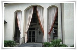 Outdoor Fabric Curtain